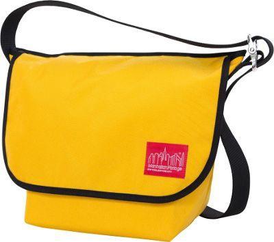 Manhattan Portage Vintage Medium Messenger Bag Mustard - Manhattan Portage Messenger Bags