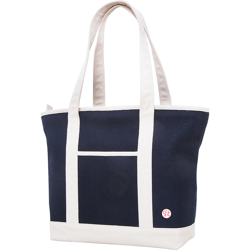 TOKEN Woolrich West Point Sunnyside Tote Navy TOKEN All Purpose Totes