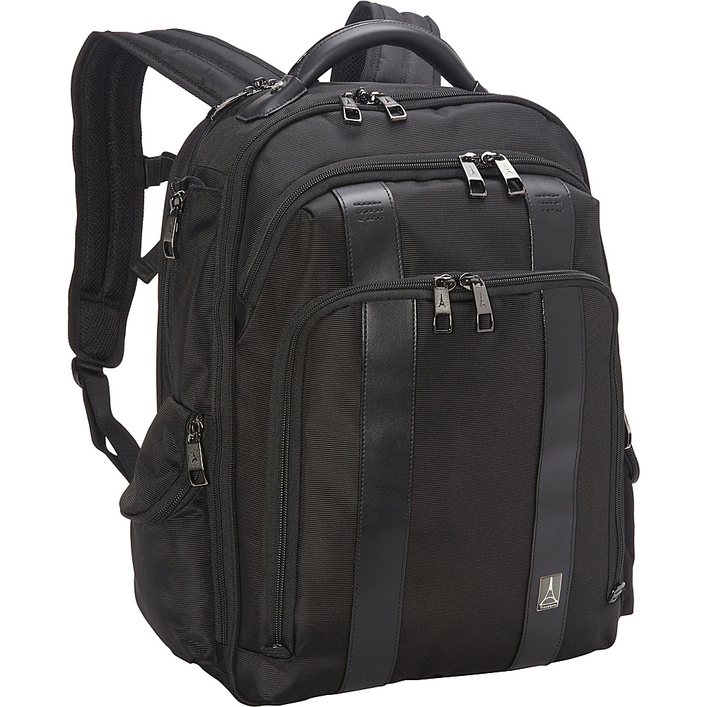 Travelpro Crew Executive Choice Checkpoint Friendly Computer Laptop Case Black Travelpro Business Laptop Backpacks