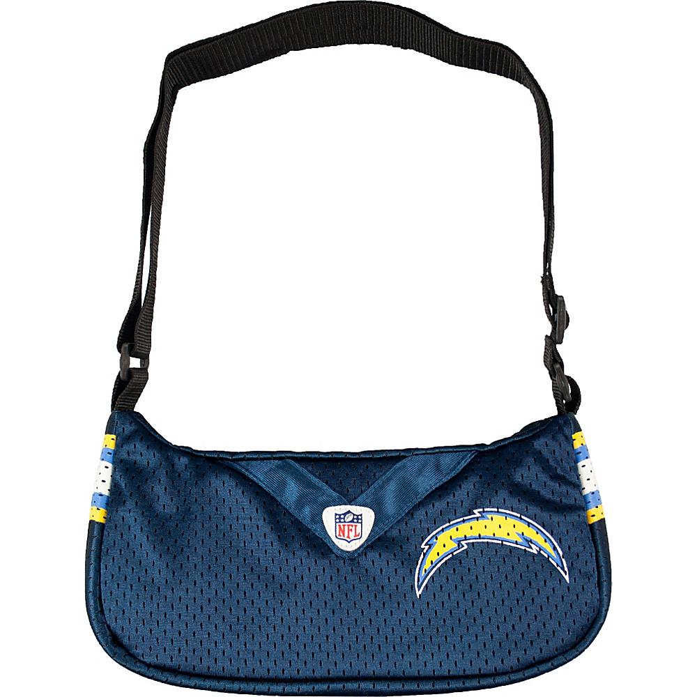 Littlearth Team Jersey Purse - NFL Teams San Diego Chargers - Littlearth Fabric Handbags - Handbags, Fabric Handbags