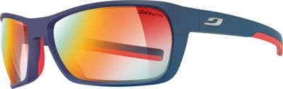 Julbo Blast Sunglasses with Zebra Light Fire Lenses Dark Blue / Red - Julbo Eyewear