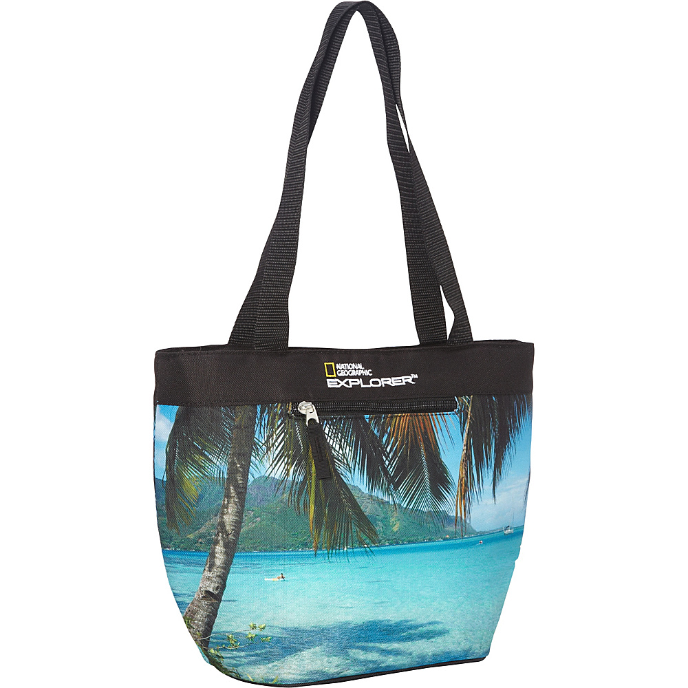 National Geographic Girl's Lunch Tote Beach - National Geographic Travel Coolers