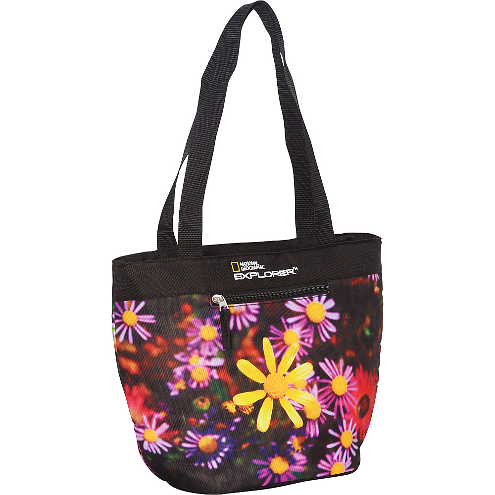 National Geographic Girl's Lunch Tote Flowers - National Geographic Travel Coolers