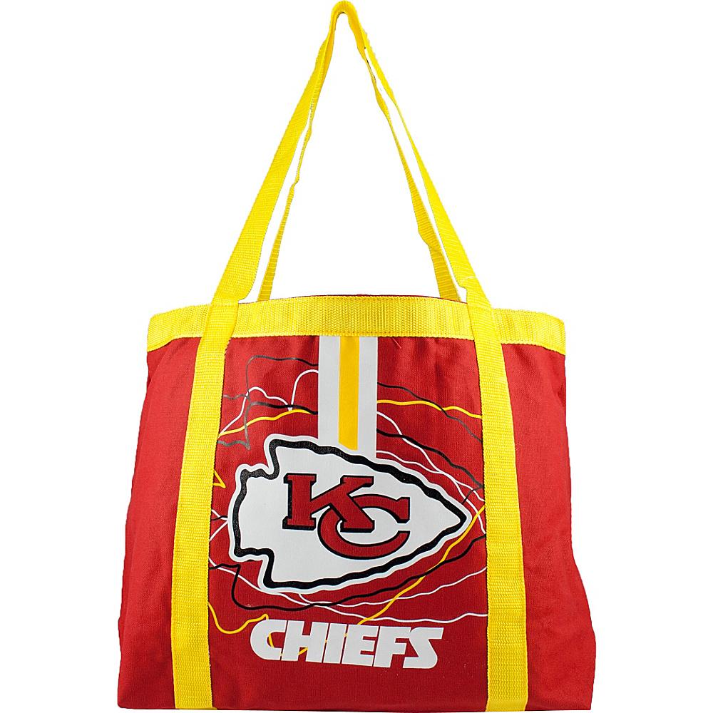 Littlearth Team Tailgate Tote - NFL Teams Kansas City Chiefs - Littlearth Fabric Handbags - Handbags, Fabric Handbags