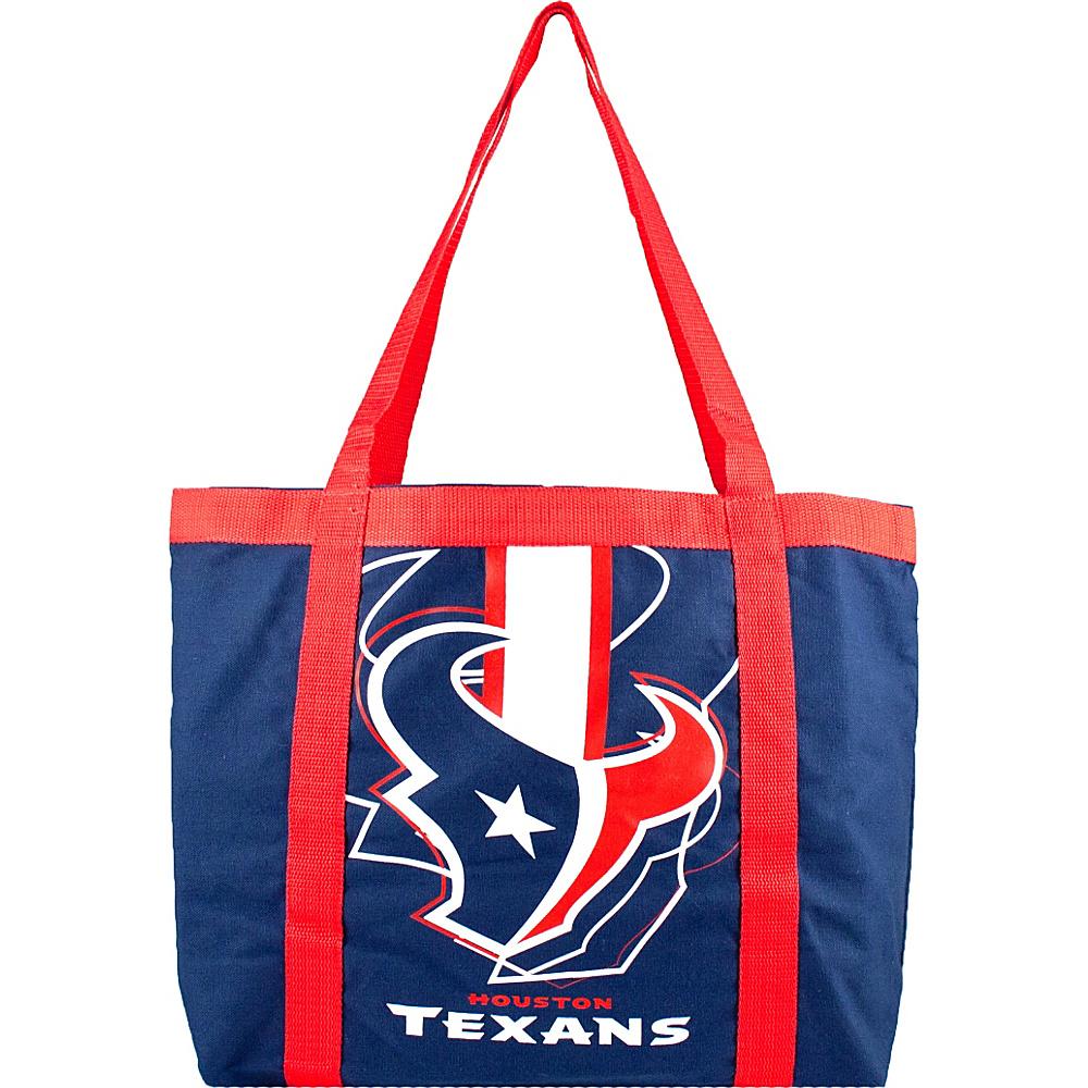 Littlearth Team Tailgate Tote - NFL Teams Houston Texans - Littlearth Fabric Handbags - Handbags, Fabric Handbags