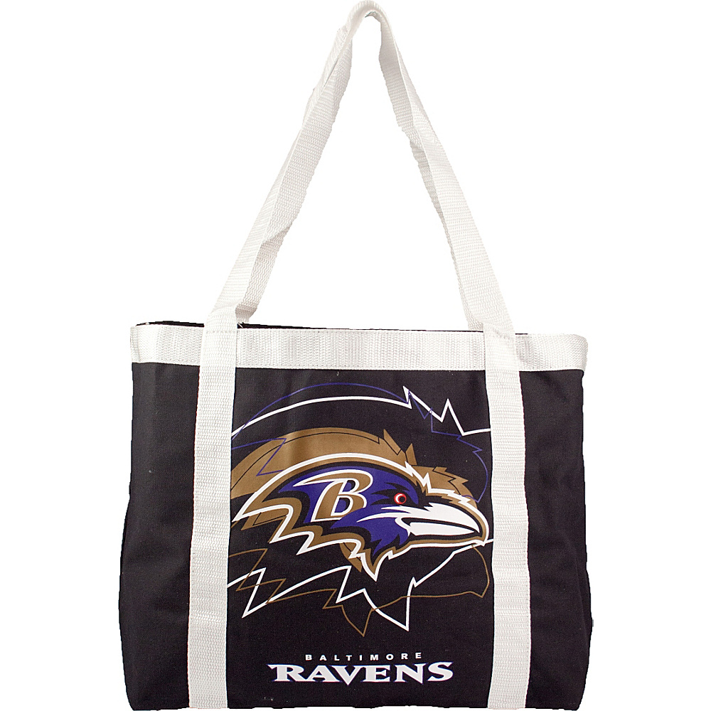 Littlearth Team Tailgate Tote - NFL Teams Baltimore Ravens - Littlearth Fabric Handbags