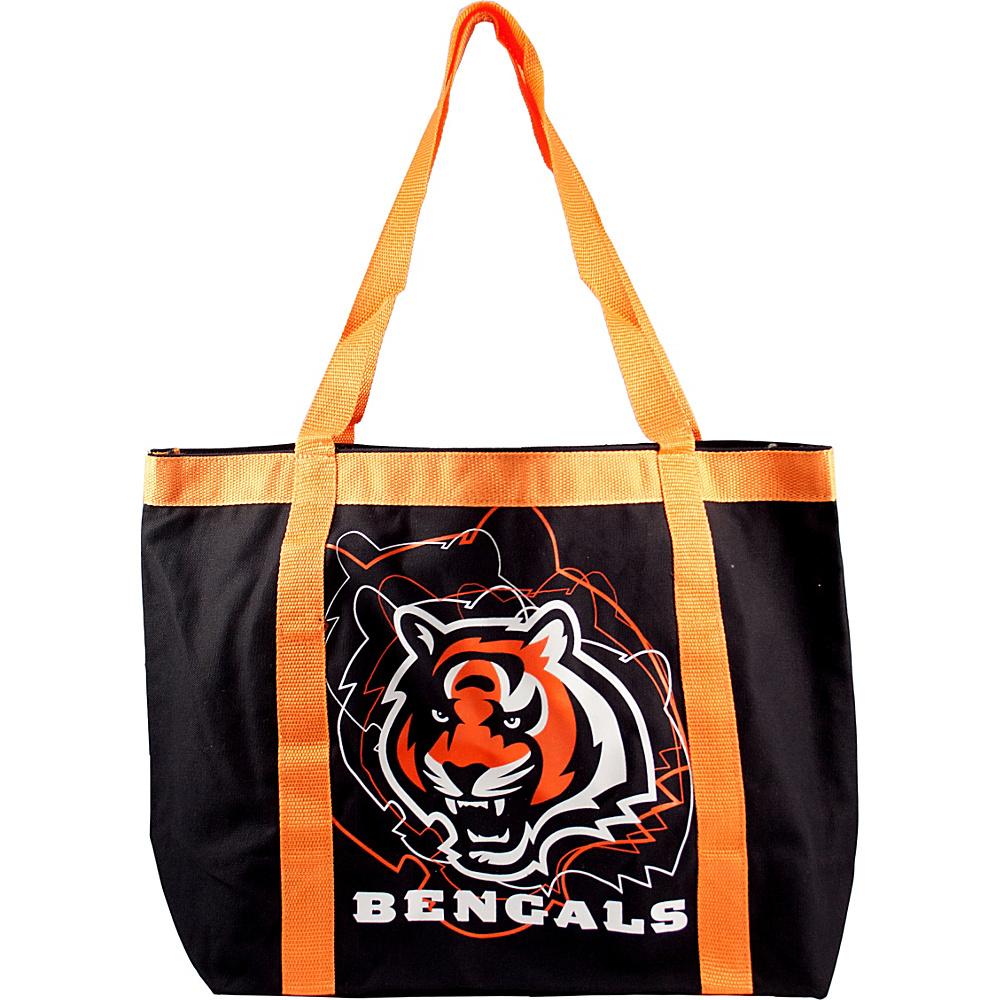 Littlearth Team Tailgate Tote - NFL Teams Cincinnati Bengals - Littlearth Fabric Handbags - Handbags, Fabric Handbags