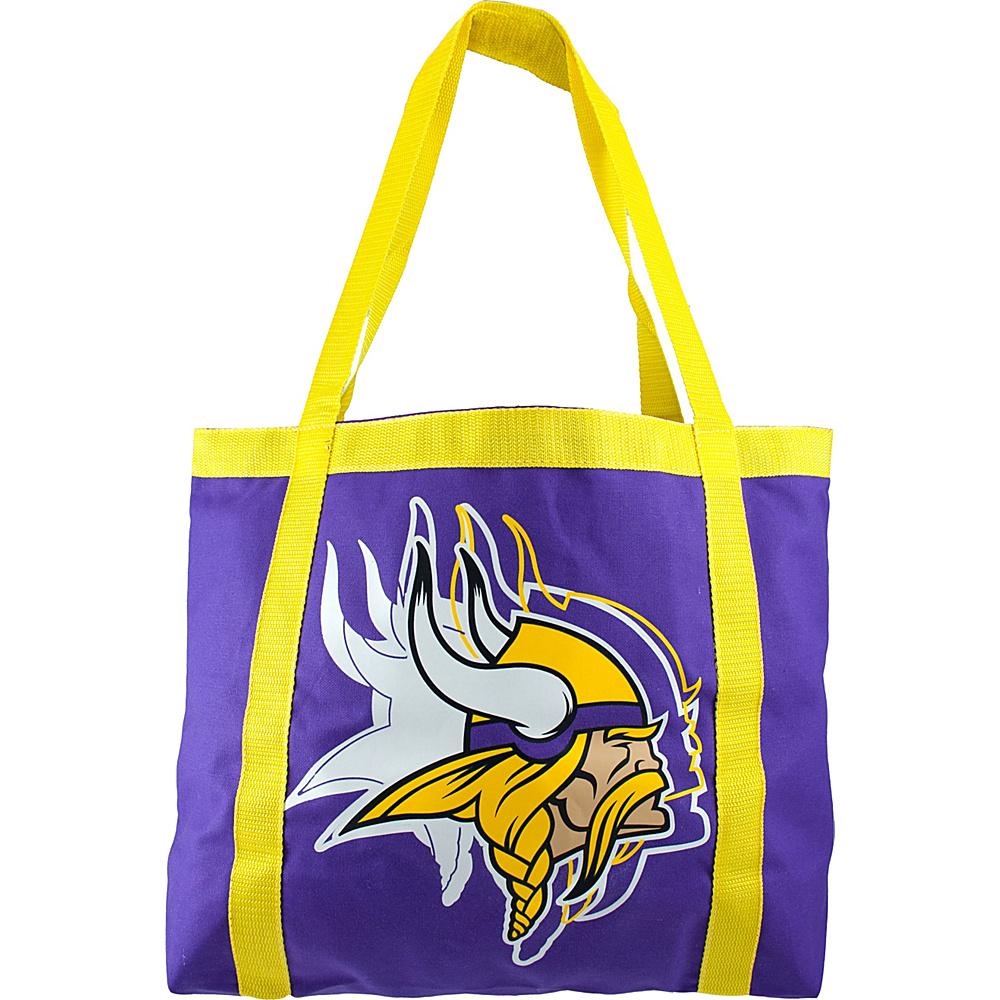 Littlearth Team Tailgate Tote - NFL Teams Minnesota Vikings - Littlearth Fabric Handbags - Handbags, Fabric Handbags