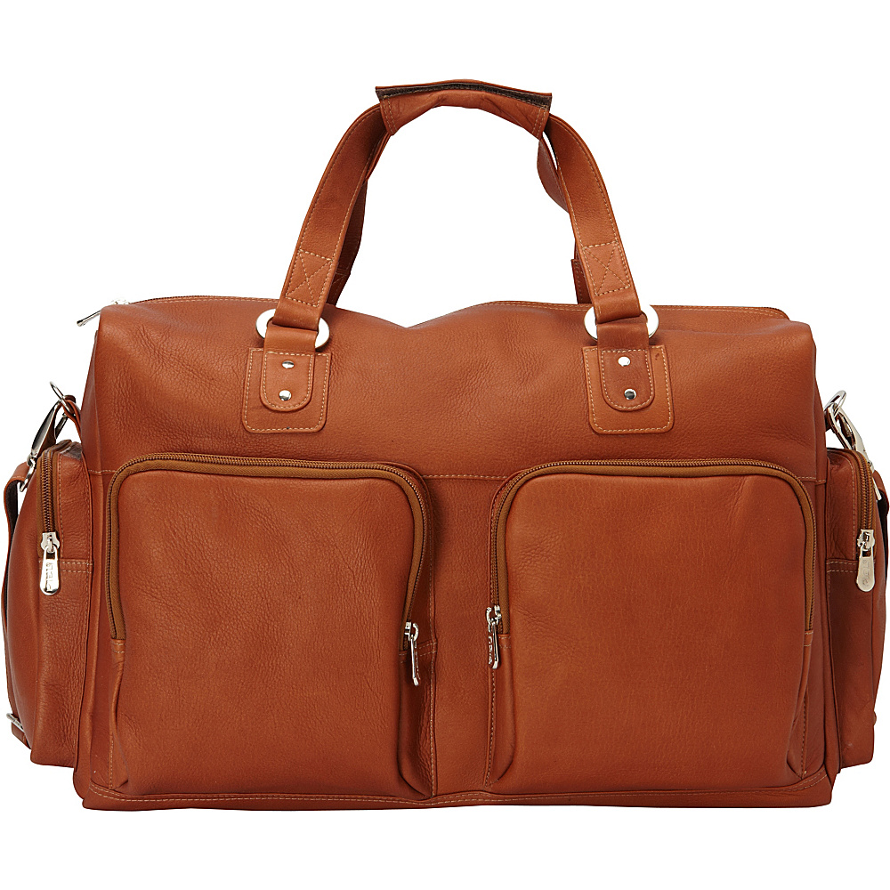 Piel Multi-Pocket Carry-On Saddle - Piel Travel Duffels - Duffels, Travel Duffels