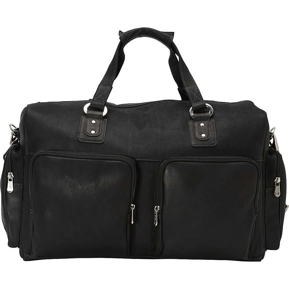 Piel Multi-Pocket Carry-On Black - Piel Travel Duffels - Duffels, Travel Duffels