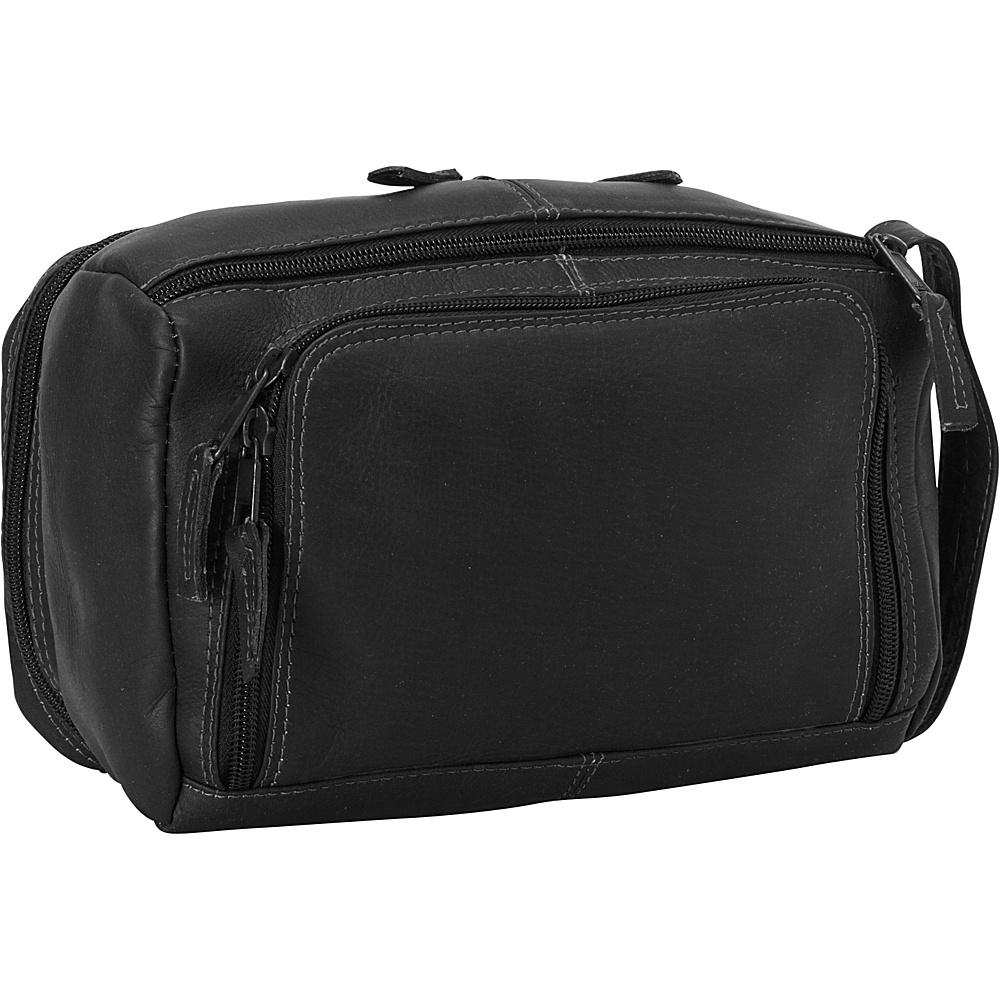 Latico Leathers South Side Travel Kit Black - Latico Leathers Toiletry Kits - Travel Accessories, Toiletry Kits