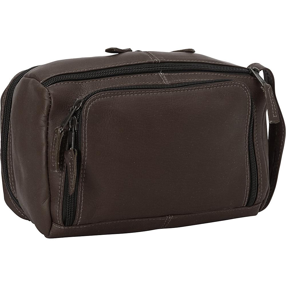 Latico Leathers South Side Travel Kit Café - Latico Leathers Toiletry Kits - Travel Accessories, Toiletry Kits