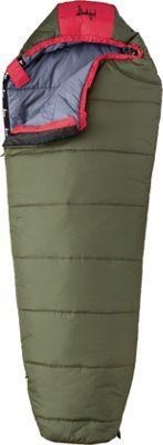 Slumberjack Big Scout 30 Degree Short Right Hand Sleeping Bag Evergreen - Slumberjack Outdoor Accessories