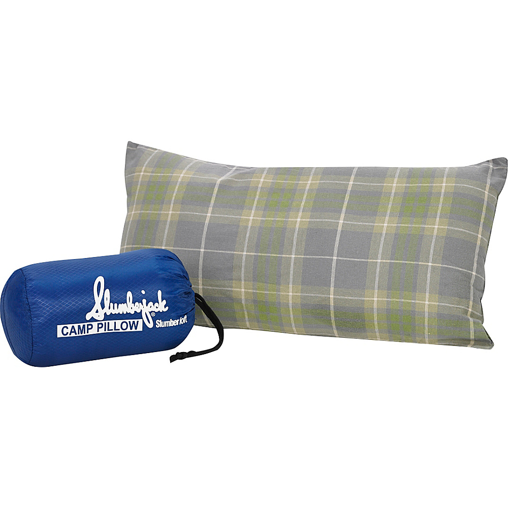 Slumberjack Slumberloft Camp Pillow White Slumberjack Outdoor Accessories