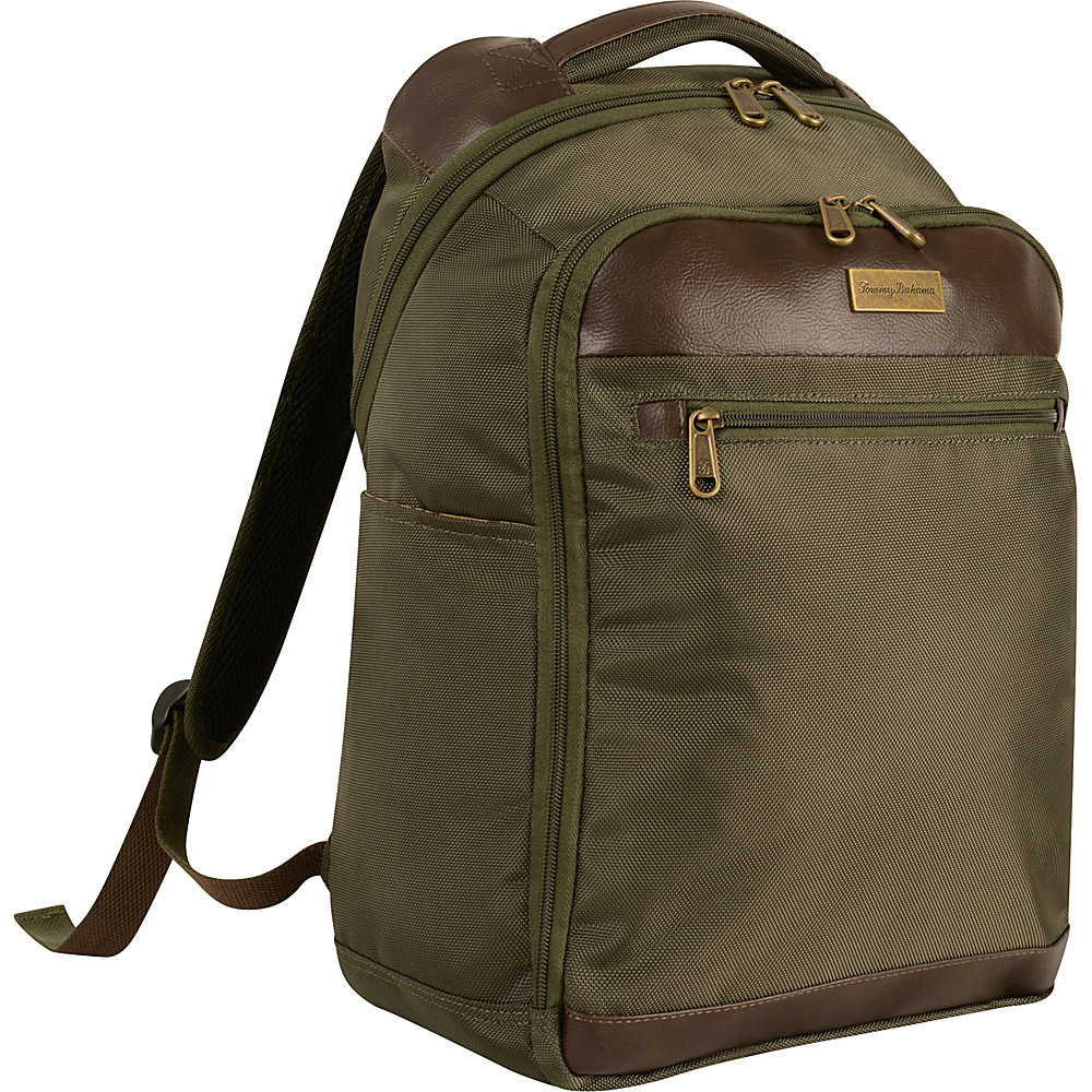 Tommy Bahama Surge 18 Backpack Olive Brown Tommy Bahama Business Laptop Backpacks