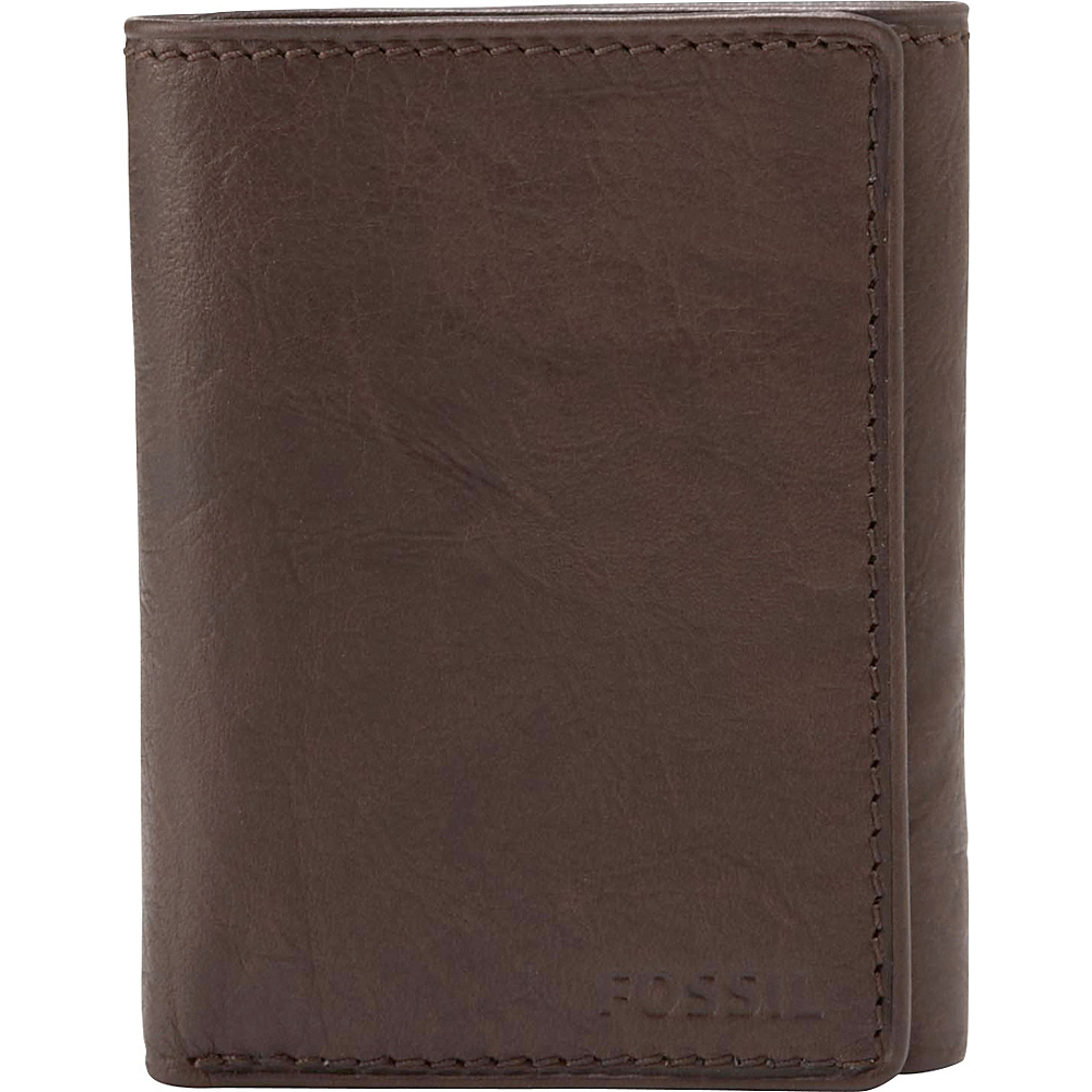 Fossil Ingram Trifold Wallet Brown - Fossil Mens Wallets - Work Bags & Briefcases, Men's Wallets