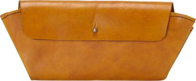 Sharo Leather Bags Handcrafted Leather Wallet Yellow - Sharo Leather Bags Women's Wallets