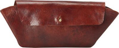 Sharo Leather Bags Handcrafted Leather Wallet Burgundy Red - Sharo Leather Bags Women's Wallets