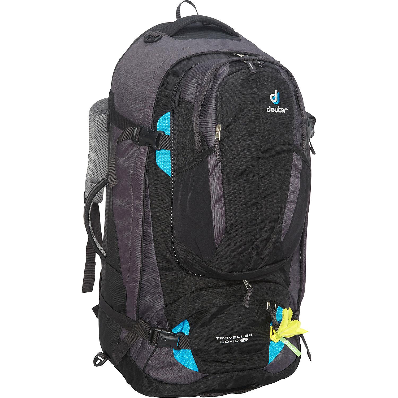 deuter traveller 60 10 sl travel backpack. Black Bedroom Furniture Sets. Home Design Ideas