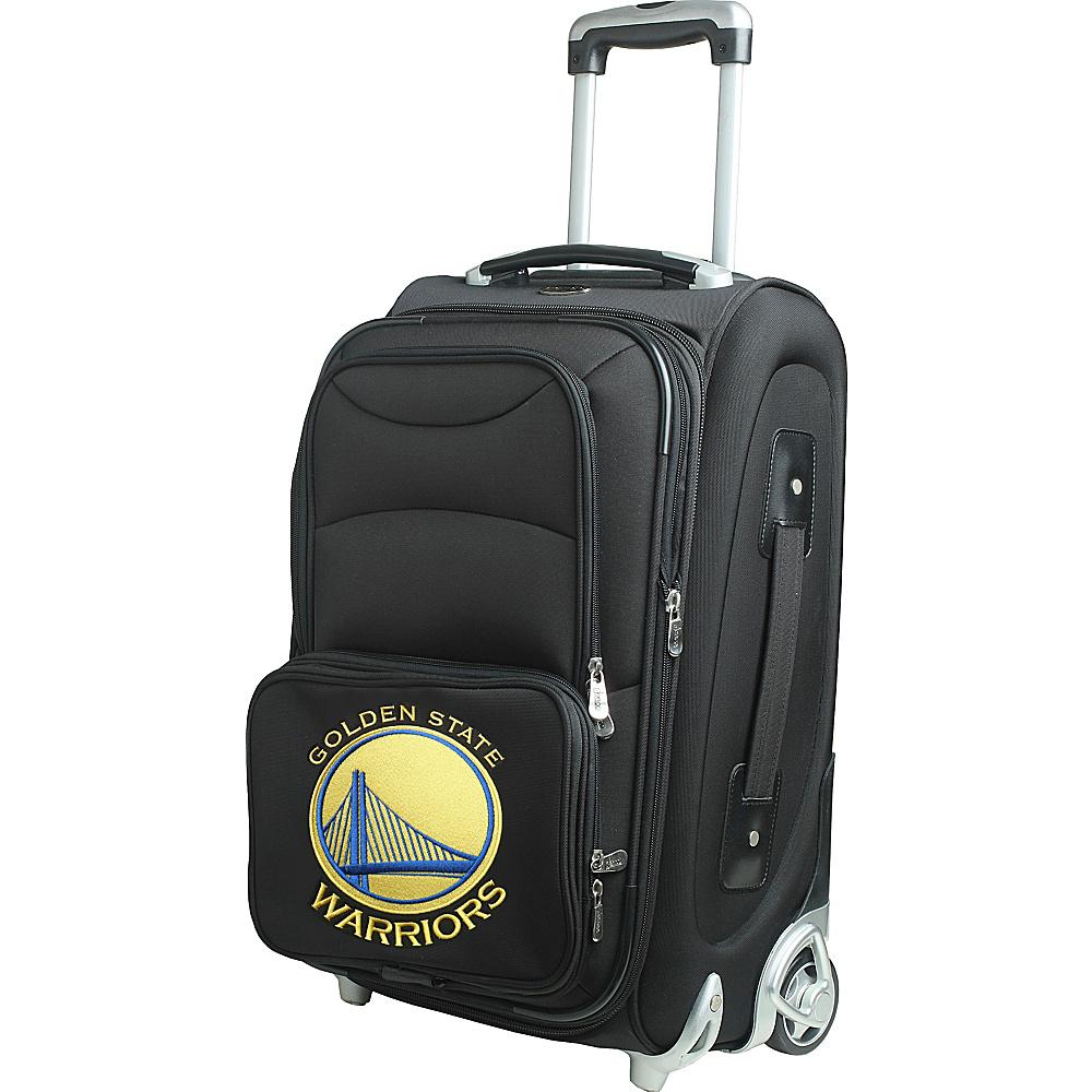 Denco Sports Luggage NBA 21 Wheeled Upright Golden State Warriors - Denco Sports Luggage Softside Carry-On - Luggage, Softside Carry-On