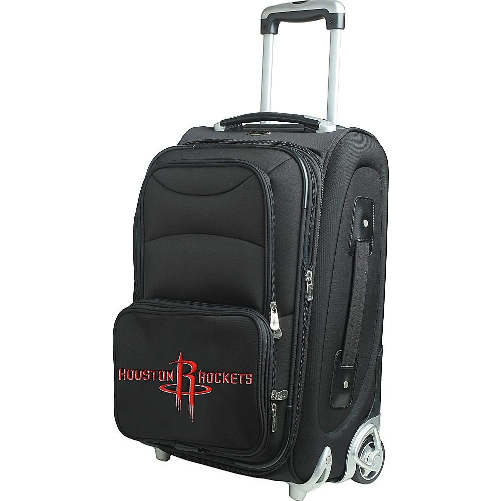 Denco Sports Luggage NBA 21 Wheeled Upright Houston Rockets - Denco Sports Luggage Softside Carry-On - Luggage, Softside Carry-On