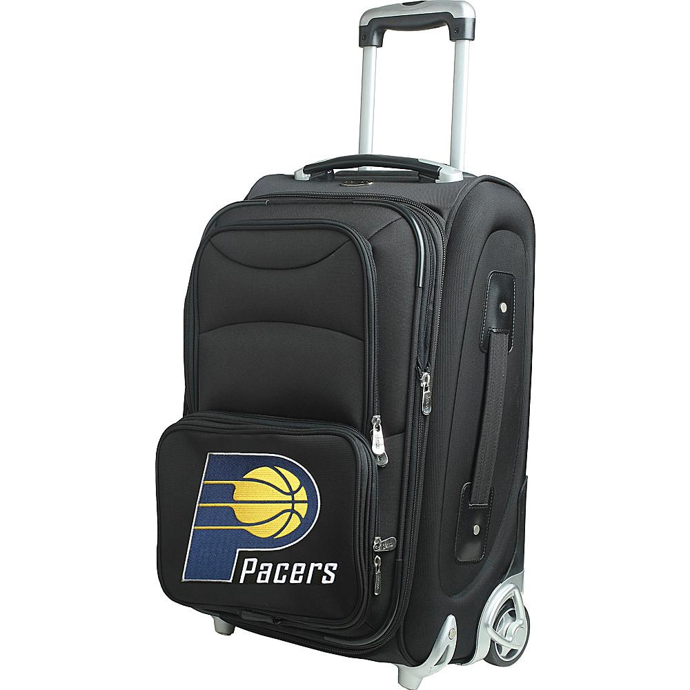 Denco Sports Luggage NBA 21 Wheeled Upright Indiana Pacers - Denco Sports Luggage Softside Carry-On - Luggage, Softside Carry-On