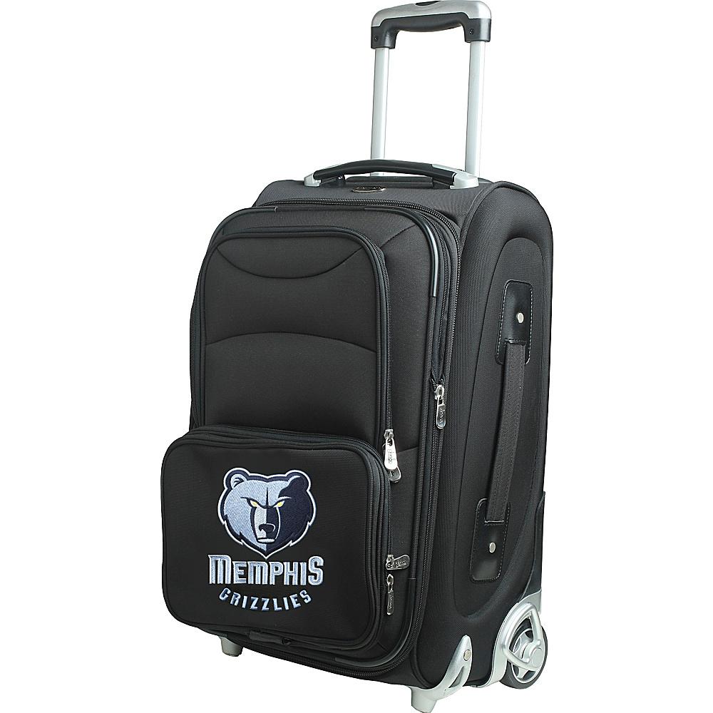 Denco Sports Luggage NBA 21 Wheeled Upright Memphis Grizzlies - Denco Sports Luggage Softside Carry-On - Luggage, Softside Carry-On