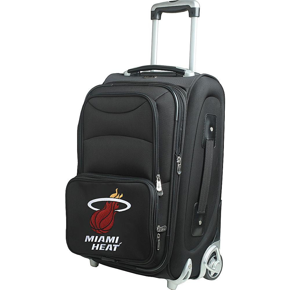 Denco Sports Luggage NBA 21 Wheeled Upright Miami Heat - Denco Sports Luggage Softside Carry-On - Luggage, Softside Carry-On