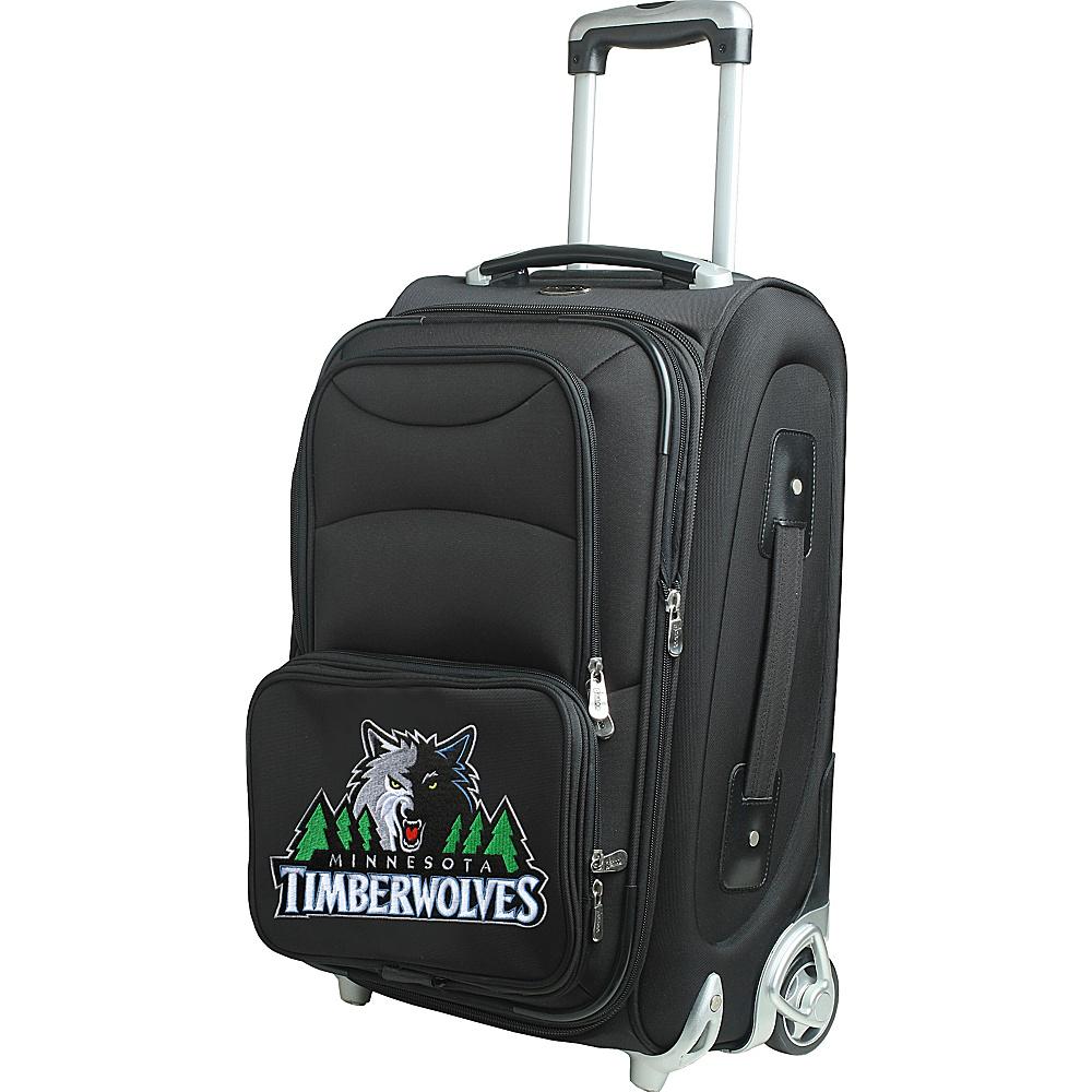 Denco Sports Luggage NBA 21 Wheeled Upright Minnesota Timberwolves - Denco Sports Luggage Softside Carry-On - Luggage, Softside Carry-On
