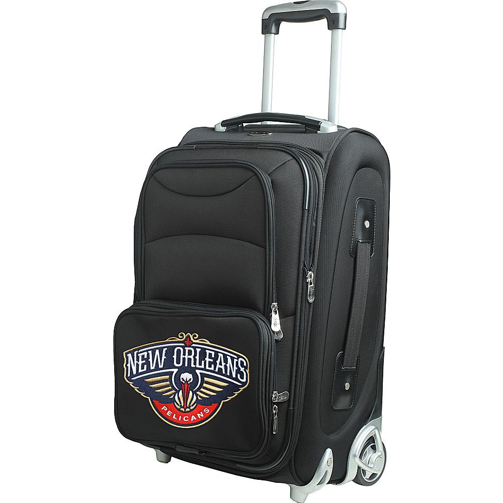 Denco Sports Luggage NBA 21 Wheeled Upright New Orleans Pelicans - Denco Sports Luggage Softside Carry-On - Luggage, Softside Carry-On