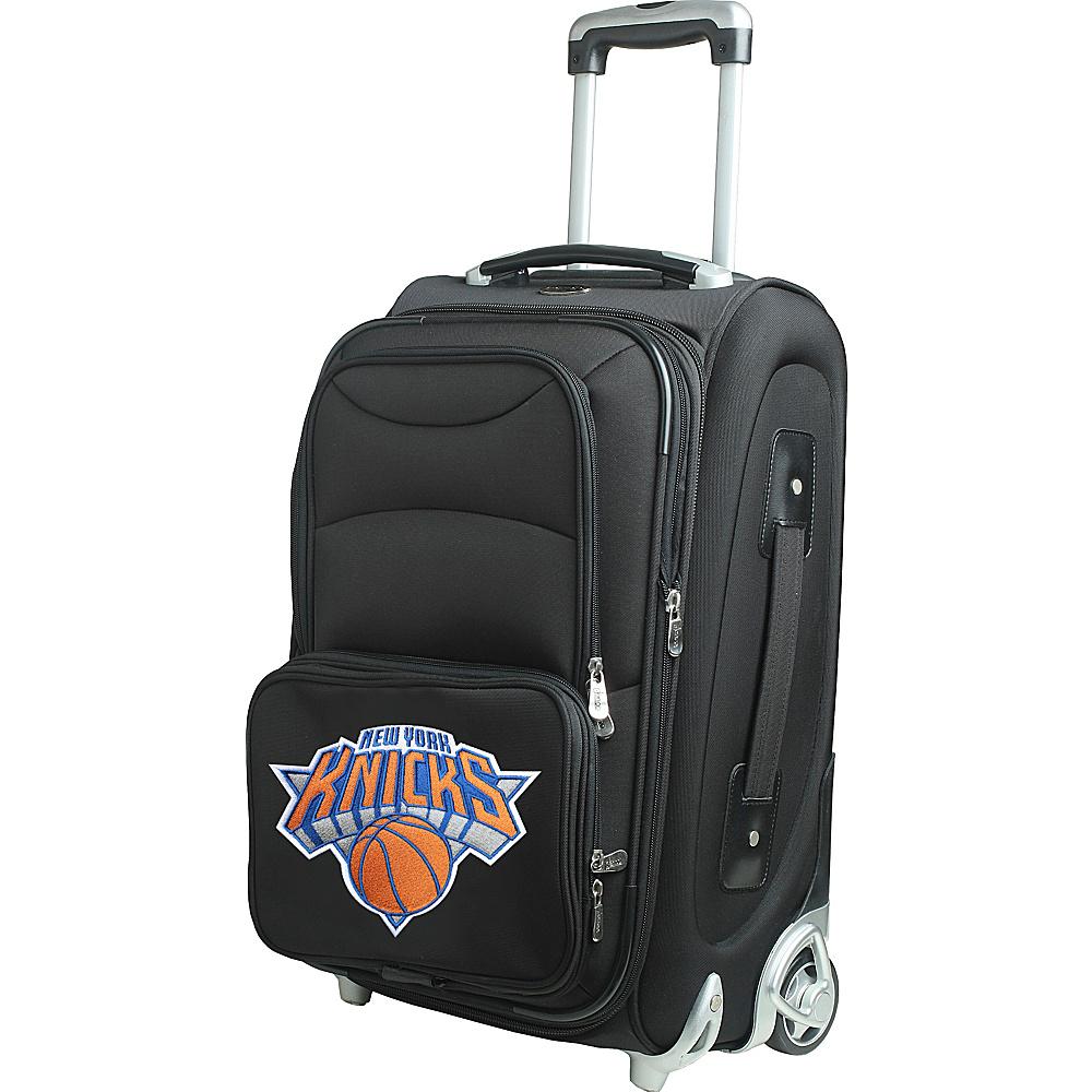 Denco Sports Luggage NBA 21 Wheeled Upright New York Knicks - Denco Sports Luggage Softside Carry-On - Luggage, Softside Carry-On