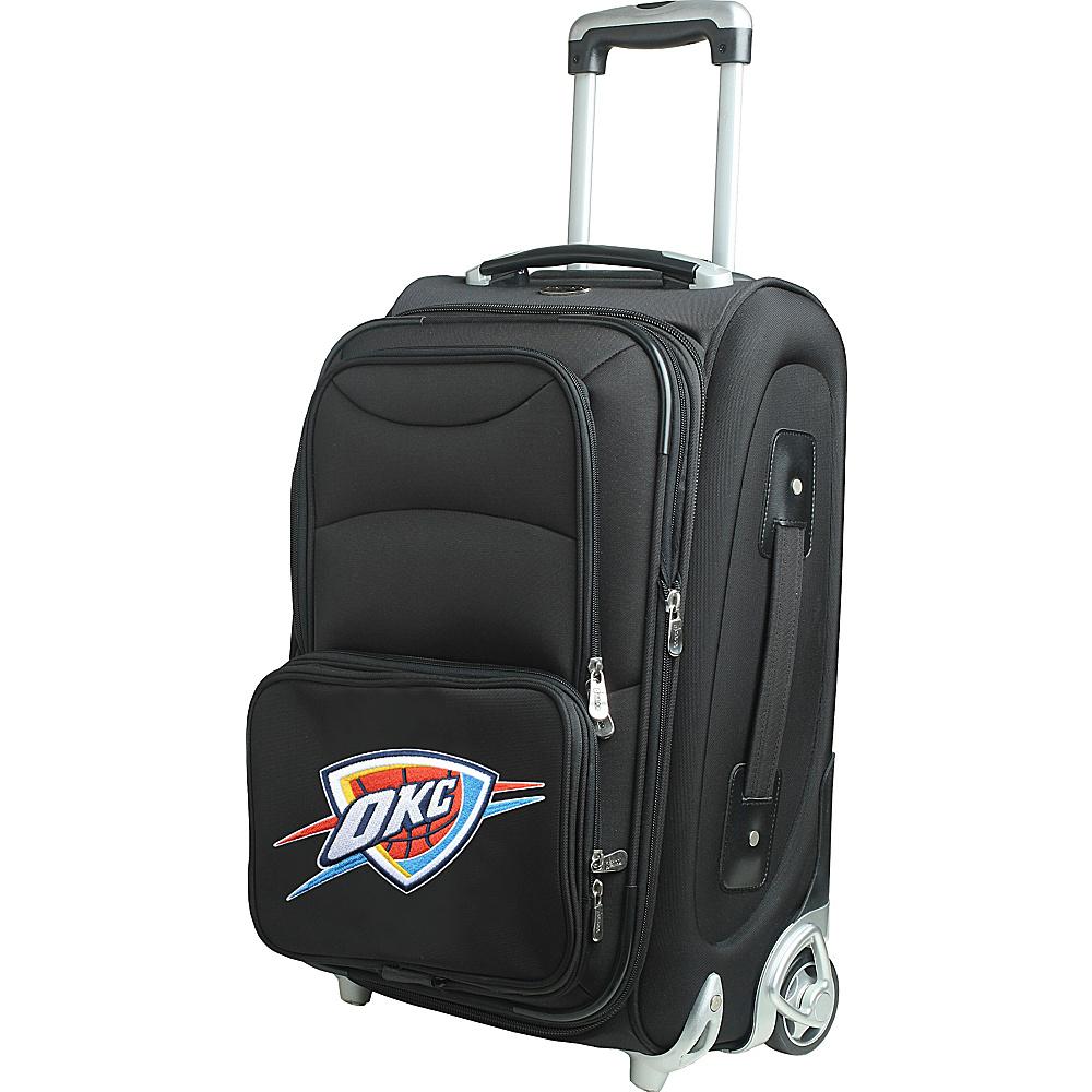 Denco Sports Luggage NBA 21 Wheeled Upright Oklahoma City Thunder - Denco Sports Luggage Softside Carry-On - Luggage, Softside Carry-On