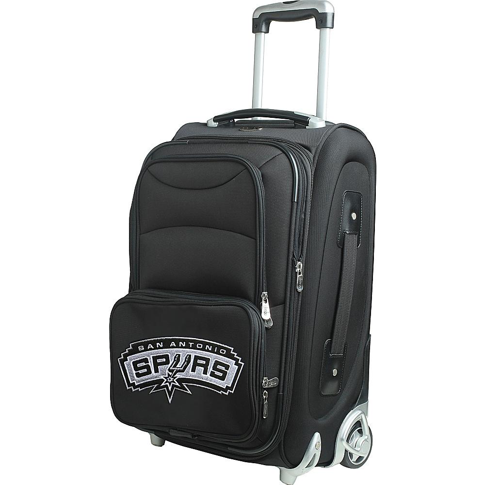 Denco Sports Luggage NBA 21 Wheeled Upright San Antonio Spurs - Denco Sports Luggage Softside Carry-On - Luggage, Softside Carry-On