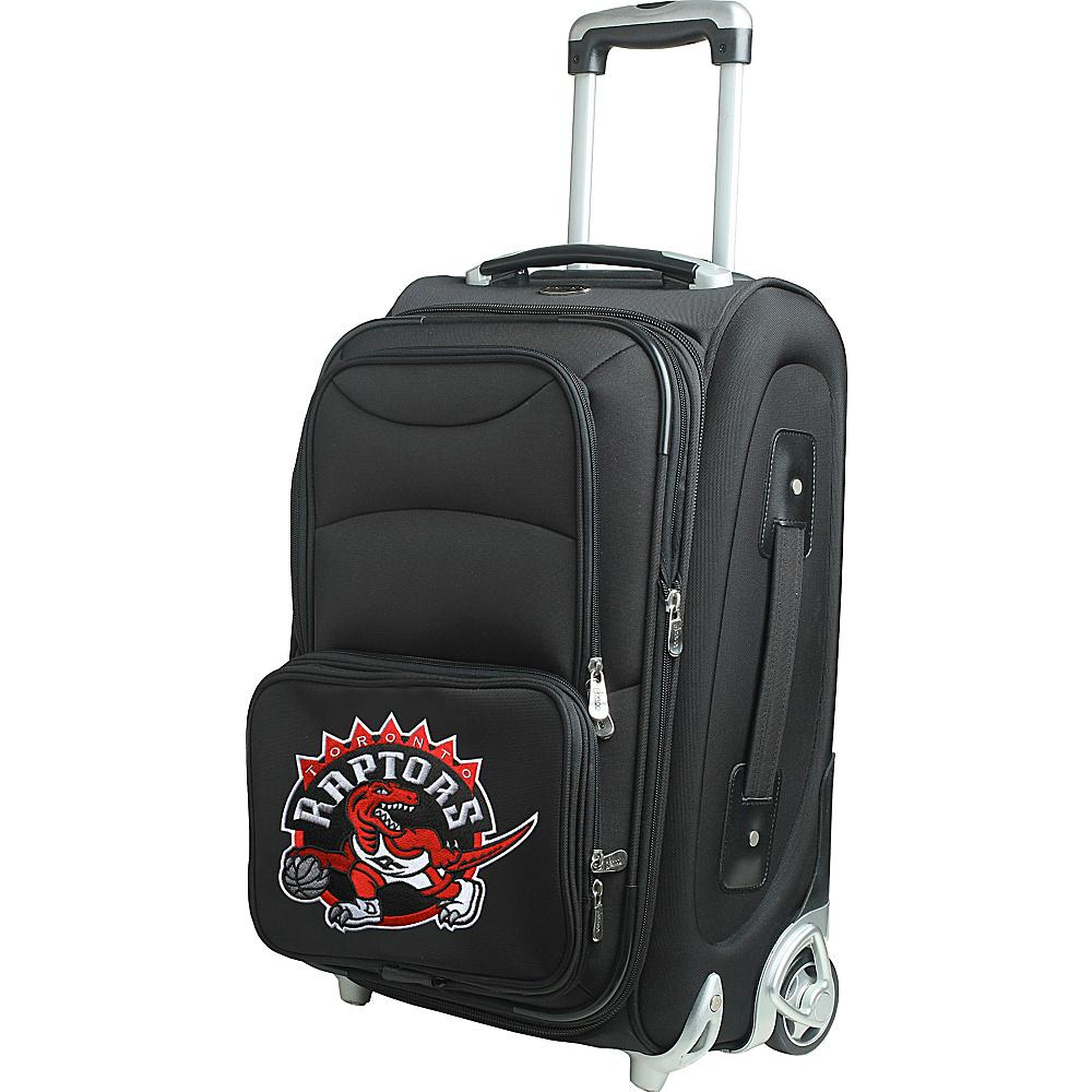 Denco Sports Luggage NBA 21 Wheeled Upright Toronto Raptors - Denco Sports Luggage Softside Carry-On - Luggage, Softside Carry-On