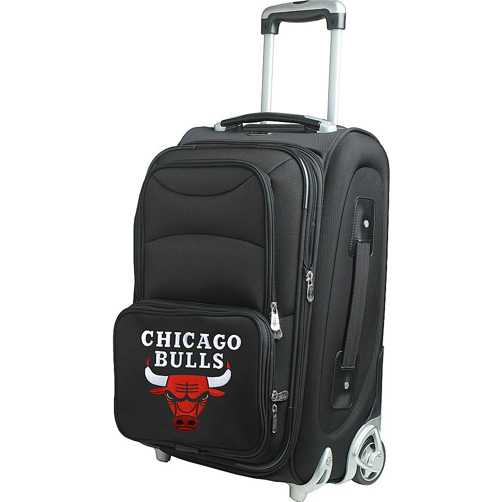 Denco Sports Luggage NBA 21 Wheeled Upright Chicago Bulls - Denco Sports Luggage Softside Carry-On - Luggage, Softside Carry-On