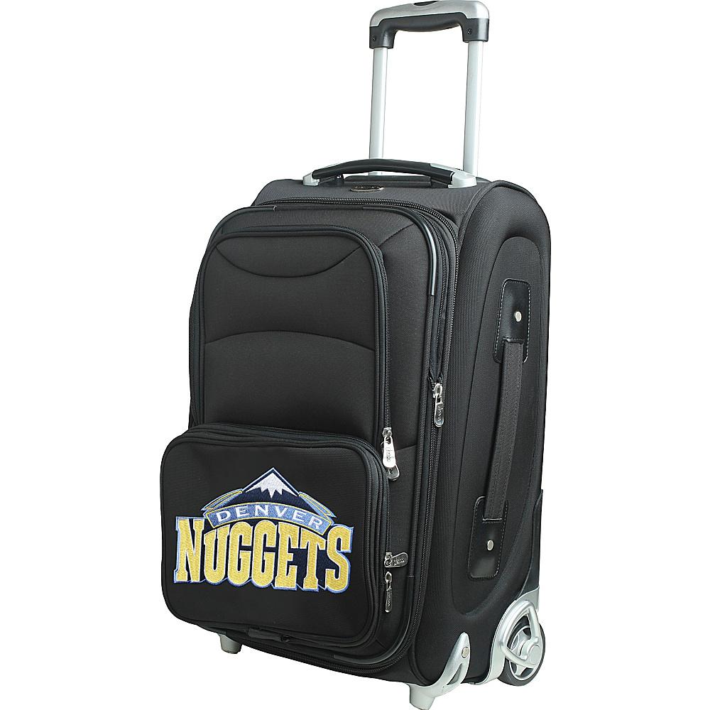 Denco Sports Luggage NBA 21 Wheeled Upright Denver Nuggets - Denco Sports Luggage Softside Carry-On - Luggage, Softside Carry-On