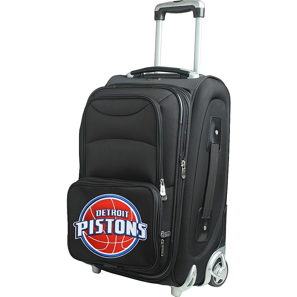 Denco Sports Luggage NBA 21 Wheeled Upright Detroit Pistons - Denco Sports Luggage Softside Carry-On - Luggage, Softside Carry-On