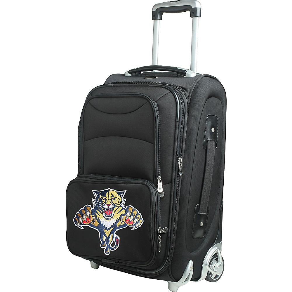 Denco Sports Luggage NHL 21 Wheeled Upright Florida Panthers - Denco Sports Luggage Softside Carry-On - Luggage, Softside Carry-On