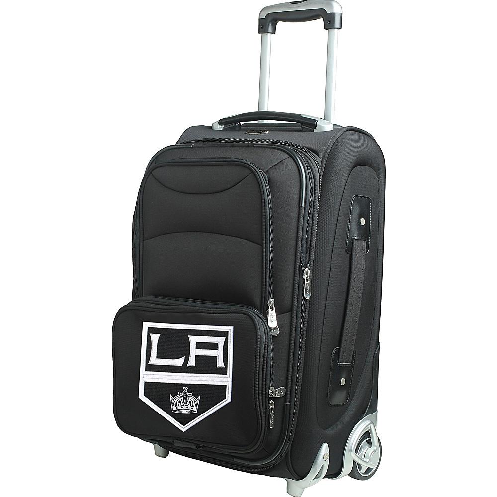 Denco Sports Luggage NHL 21 Wheeled Upright Los Angeles Kings - Denco Sports Luggage Softside Carry-On - Luggage, Softside Carry-On
