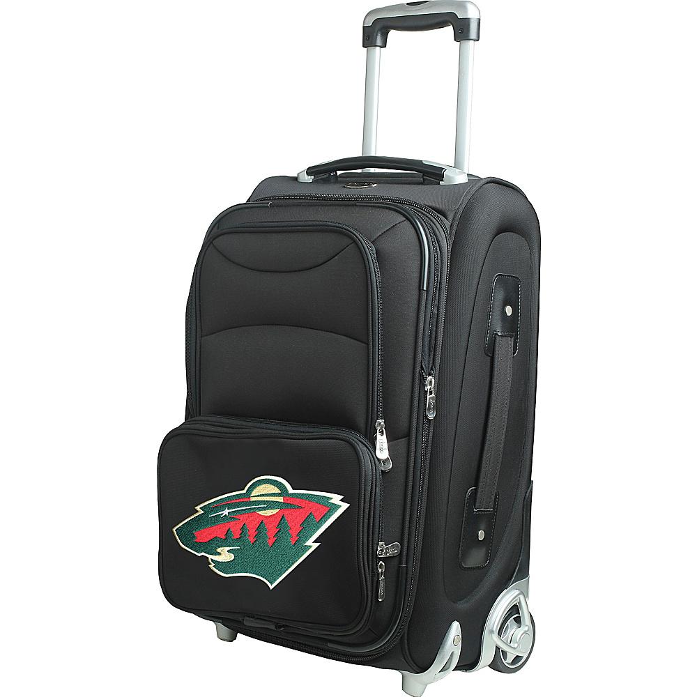 Denco Sports Luggage NHL 21 Wheeled Upright Minnesota Wild - Denco Sports Luggage Softside Carry-On - Luggage, Softside Carry-On