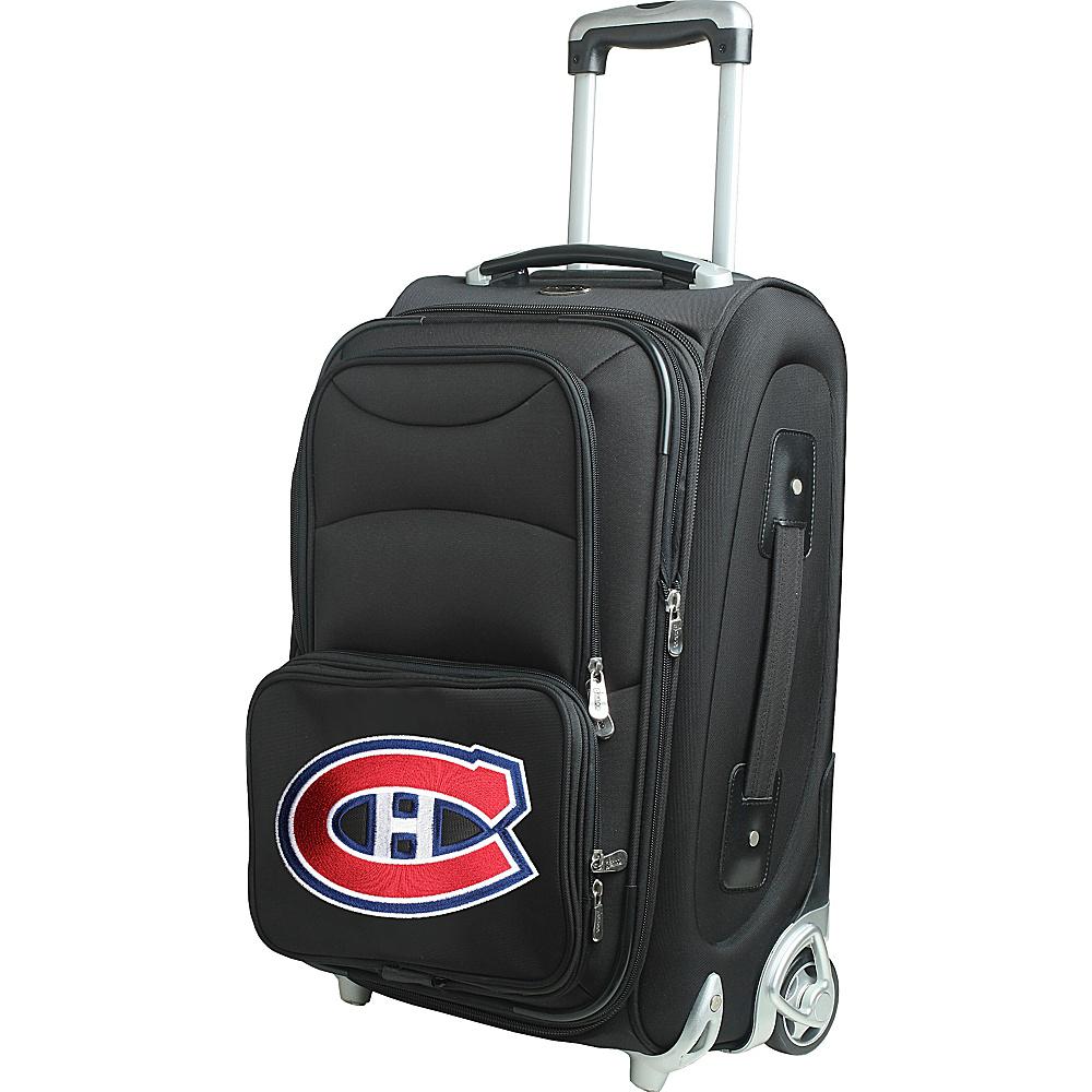 Denco Sports Luggage NHL 21 Wheeled Upright Montreal Canadians - Denco Sports Luggage Softside Carry-On - Luggage, Softside Carry-On
