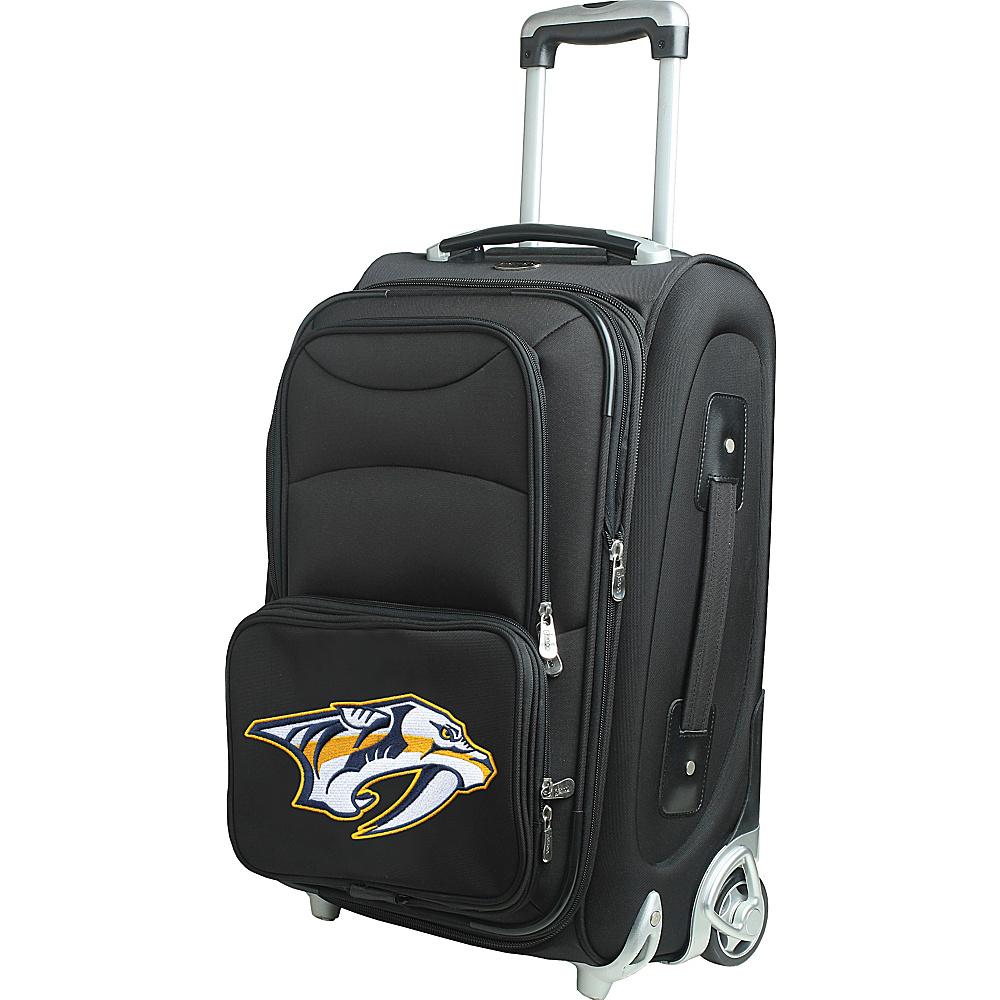 Denco Sports Luggage NHL 21 Wheeled Upright Nashville Predators - Denco Sports Luggage Softside Carry-On - Luggage, Softside Carry-On