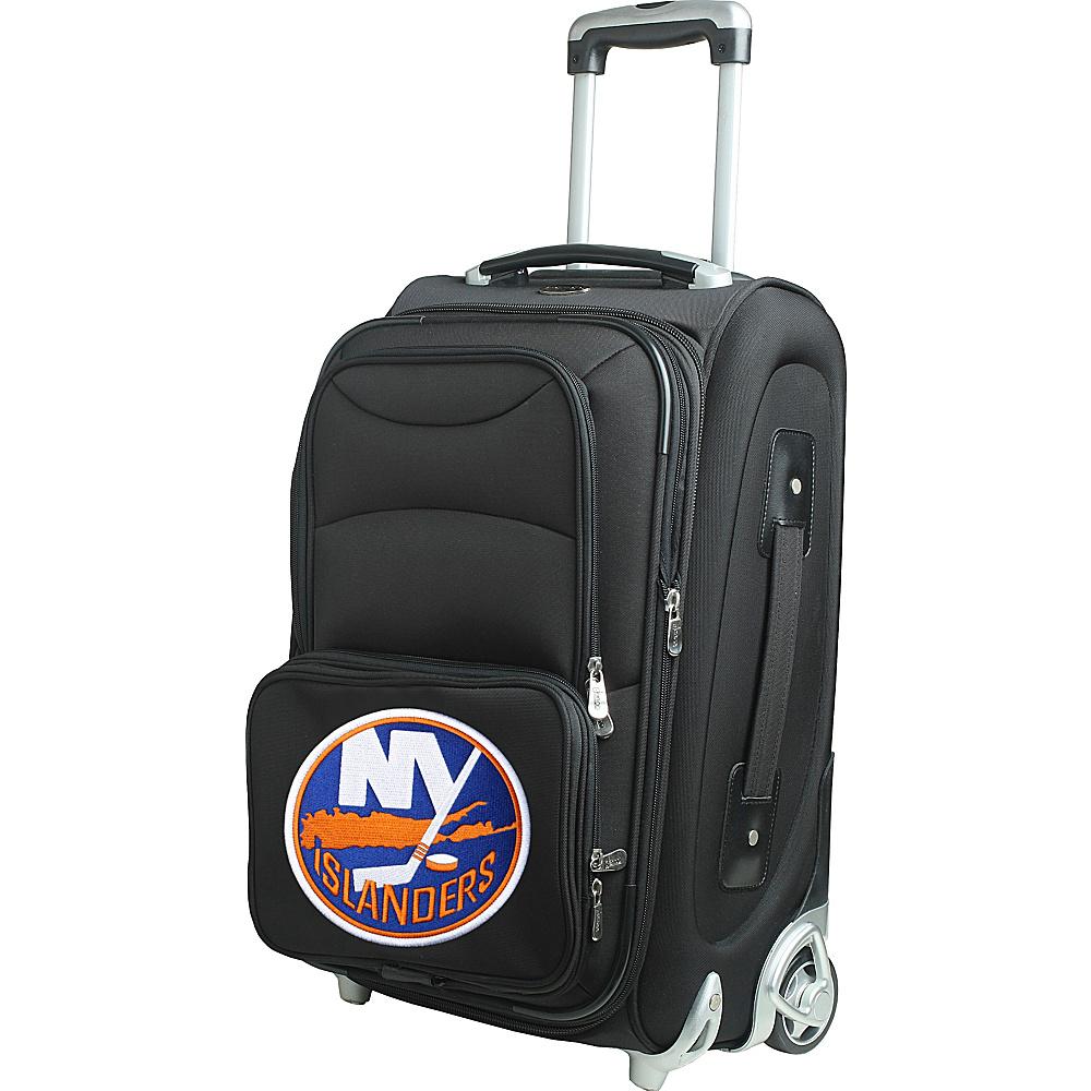 Denco Sports Luggage NHL 21 Wheeled Upright New York Islanders - Denco Sports Luggage Softside Carry-On - Luggage, Softside Carry-On