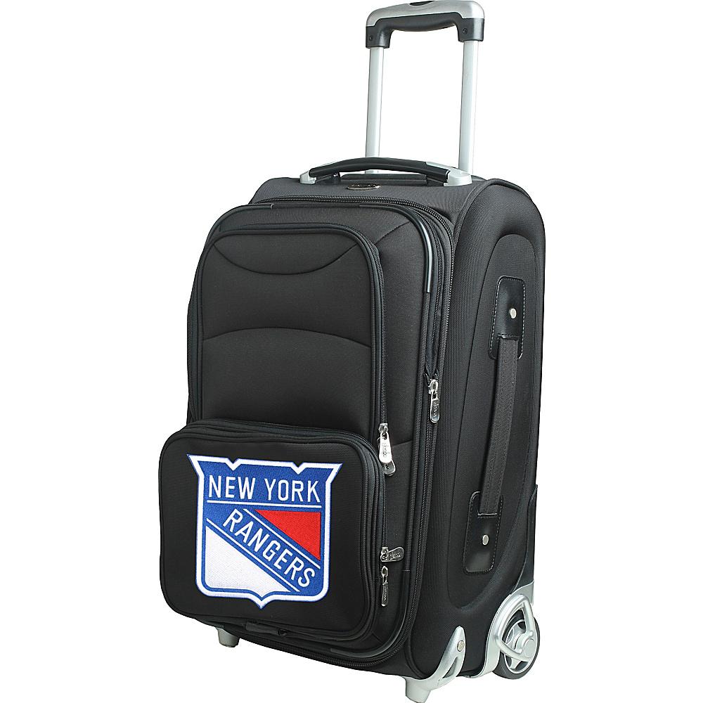 Denco Sports Luggage NHL 21 Wheeled Upright New York Rangers - Denco Sports Luggage Softside Carry-On - Luggage, Softside Carry-On