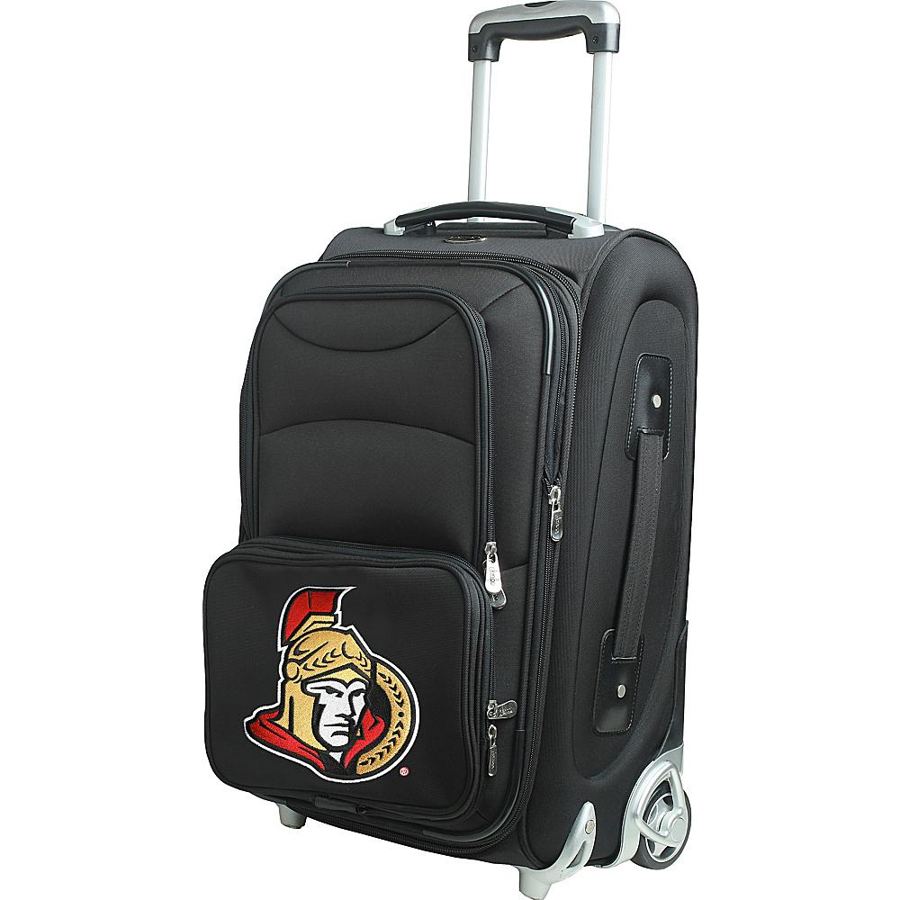 Denco Sports Luggage NHL 21 Wheeled Upright Ottawa Senators - Denco Sports Luggage Softside Carry-On - Luggage, Softside Carry-On