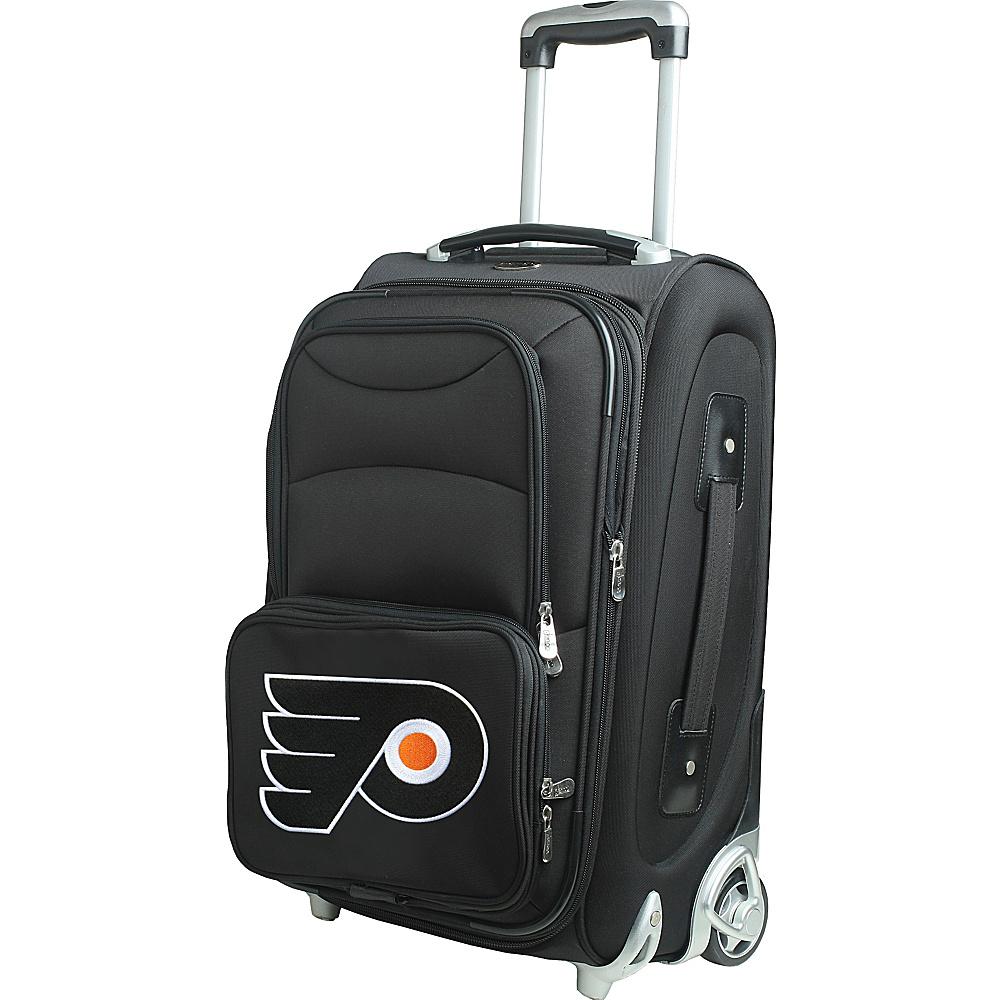 Denco Sports Luggage NHL 21 Wheeled Upright Philadelphia Flyers - Denco Sports Luggage Softside Carry-On - Luggage, Softside Carry-On