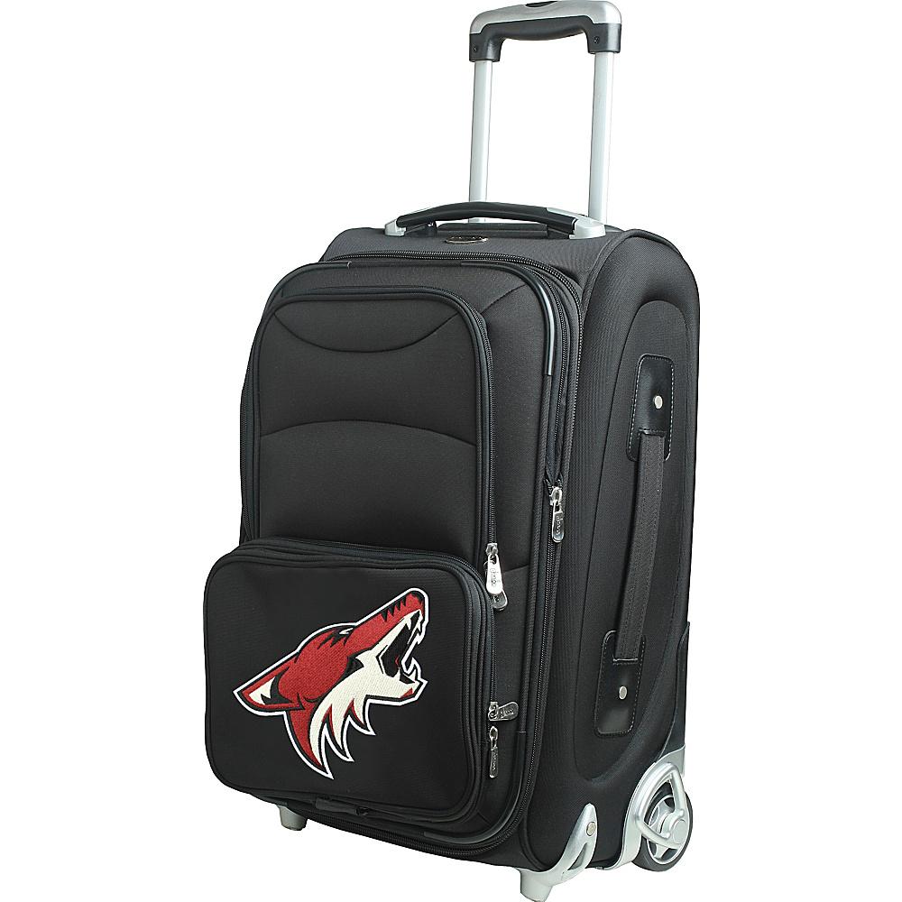 Denco Sports Luggage NHL 21 Wheeled Upright Phoenix Coyotes - Denco Sports Luggage Softside Carry-On - Luggage, Softside Carry-On