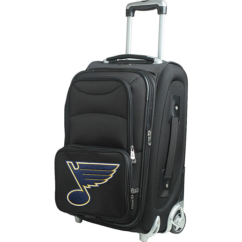 Denco Sports Luggage NHL 21 Wheeled Upright St Louis Blues - Denco Sports Luggage Softside Carry-On - Luggage, Softside Carry-On