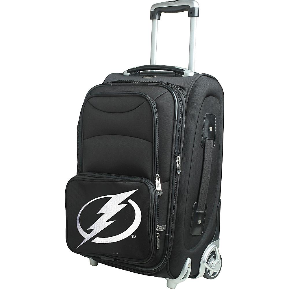 Denco Sports Luggage NHL 21 Wheeled Upright Tampa Bay Lightning - Denco Sports Luggage Softside Carry-On - Luggage, Softside Carry-On