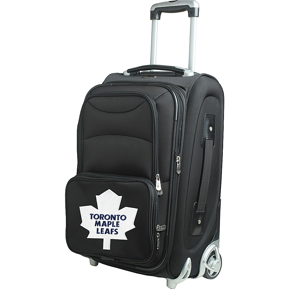 Denco Sports Luggage NHL 21 Wheeled Upright Toronto Maple Leafs - Denco Sports Luggage Softside Carry-On - Luggage, Softside Carry-On